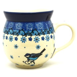 Bubble Mug - 12 oz - Bluebird