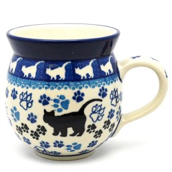 Bubble Mug - 12 oz - Black Cat