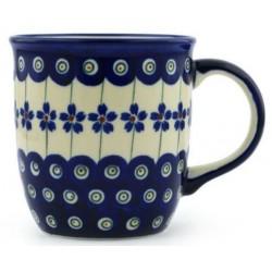 Mug - 12 oz - Floral Peacock