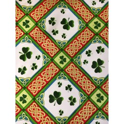 Shamrocks Irish Tea Towel