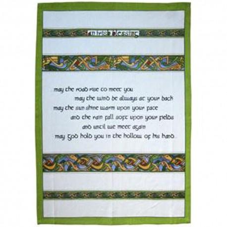 Irish Blessing Tea Towel