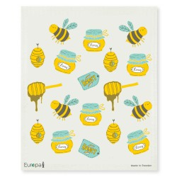 Swedish Dishcloth Bees & Honey