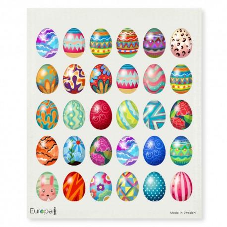 Swedish Dishcloth Easter Eggs