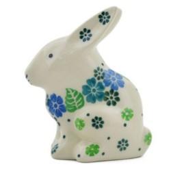 Rabbit Figurine - Tropical