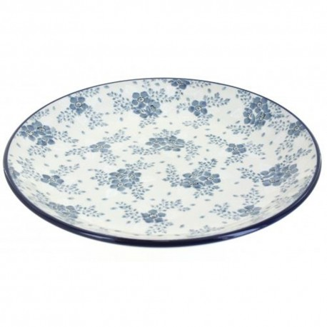 "Polish Pottery Plate - 10"" - Victorian Splendor"