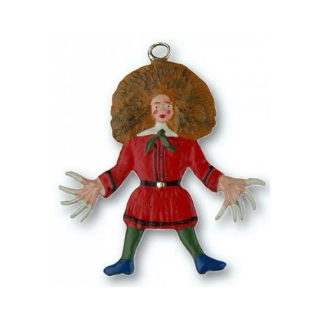 Struwwelpeter (Messy Peter) Pewter Ornament