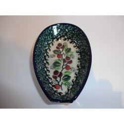 "5"" Spoon Rest - Burgundy Berry"