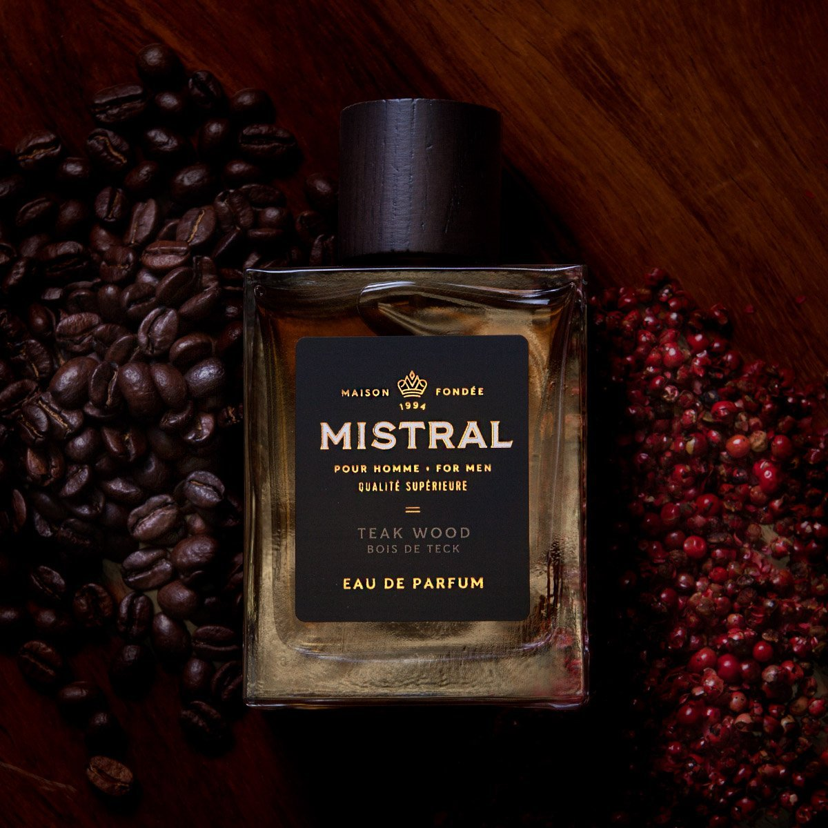 Mistral Teak Wood Eua De Parfum for Men